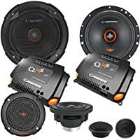 Cadence QRS6K3 500W 6.5 3-Way QRS Series Component Car Speakers