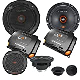 Cadence QRS6K3 500W 6.5'' 3-Way QRS Series Component Car Speakers