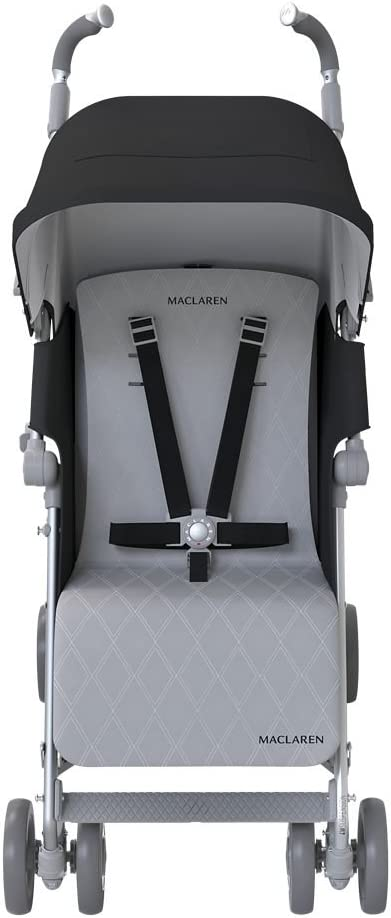 Maclaren Techno XLR - Silla de paseo, color negro/plata: Amazon.es ...