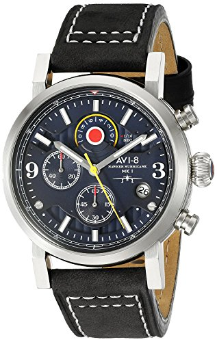 AVI-8 Mens Hawker Hurricane Watch - Blue