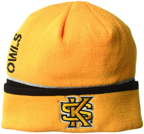 NCAA Kennesaw State Owls Adult Men Coach's Cuffed Beanie, One Size, ()