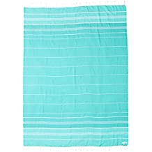 Seafoam Extra Large (XL) Beach Towel Blanket Tapestry Wall Hanging - 100% Turkish Cotton by Sand Cloud - As Seen on Shark Tank