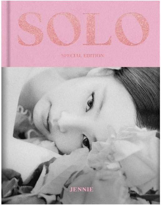 Jennie Solo Photobook Special Edition (incl Transparant Photocard Set)