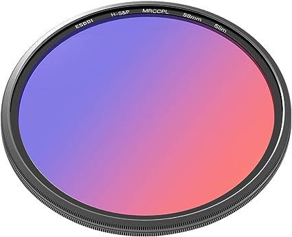 Reino Unido 46mm CPL Polarizador Cicular Lente Filtro para Canon Nikon Sony Olympus Aumento
