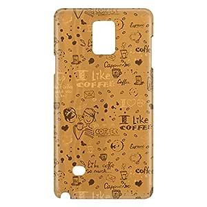 Loud Universe Galaxy Note 5 Tea Time Print 3D Wrap Around Case - Gold