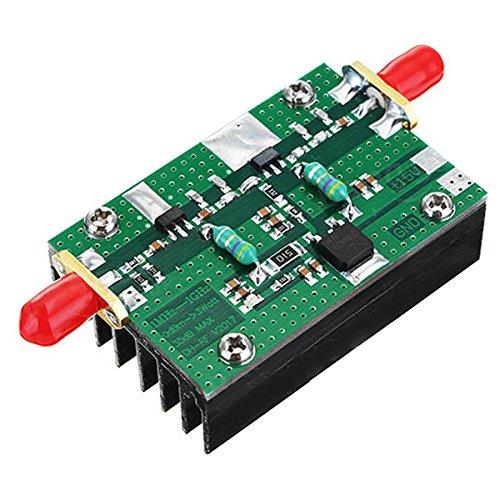 Toogoo 1MHz-1000MHZ 35DB 3W HF VHF UHF FM Transmitter Broadband RF Power Amplifier For Ham Radio