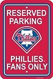 60222 - Philadelphia Phillies Plastic Parking Sign