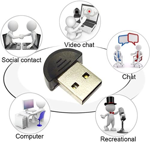Ordenador port/átil 2 Paquete HUACAM HAS03 USB 2.0 Mini micr/ófono makio micr/ófono para PC de Escritorio Bloc de Notas MSN VoIP etc.Voice reconocimiento de Software Skype