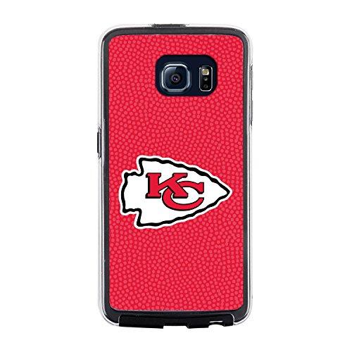 NFL Kansas City Chiefs Football Pebble Grain Feel No Wordmark Samsung Galaxy S6 Case, Team Color