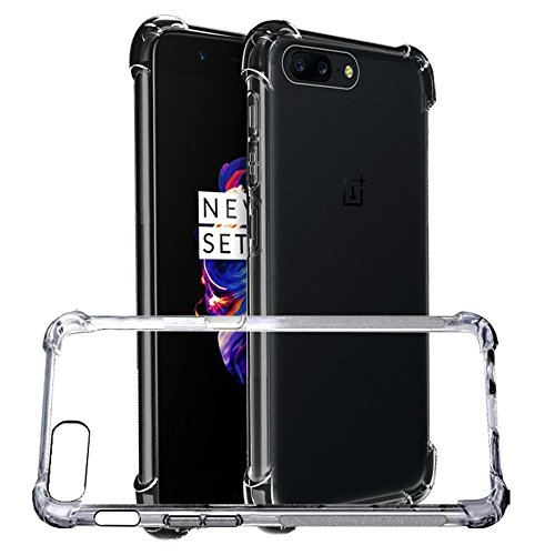 Parallel Universe Oneplus 5 / One Plus 5 Back Cover Case Shock Absorbing TPU   Transparent