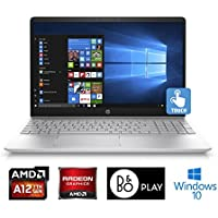 "HP Pavilion 15CD040 AMD A12 Quad-Core 12GB 1TB HDD 15.6"" HD Touchscreen Laptop (Certified Refurbished)"