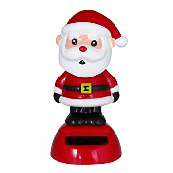 christmas decorationsblack friday sales promotions putars fashion solar powered dancing christmas swinging animated bobble