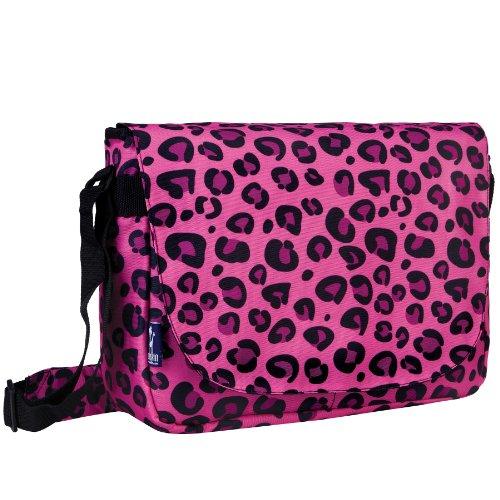 wildkin-pink-leopard-laptop-messenger-bag