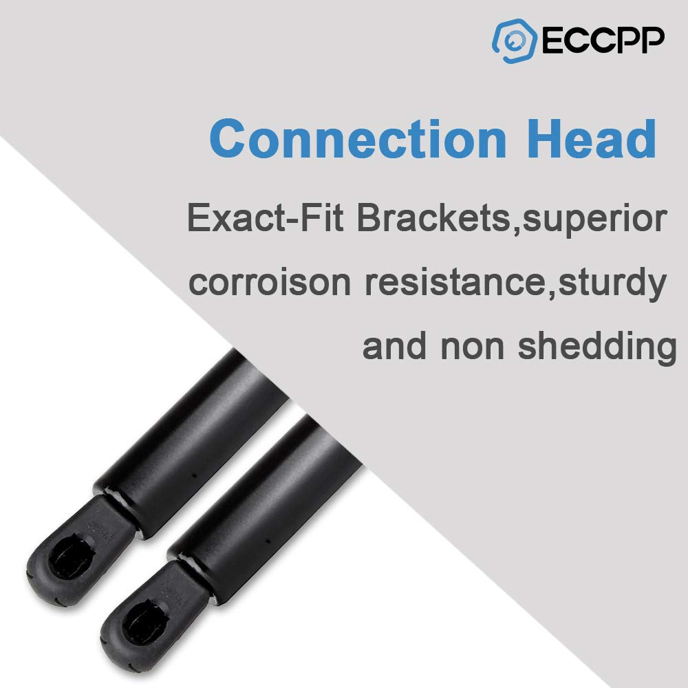 ECCPP Lift Support Rear Trunk Replacement Struts Gas Springs Fit for 2003-2008 Infiniti G35 Set of 2
