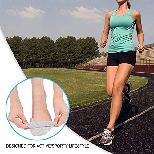 Tatapai Orthopädische Einlegesohlen 2 Stück Silikonschiene Big Toe Separator Überlappender Spreader Protection CorrectorValgus Fußmassagegerät