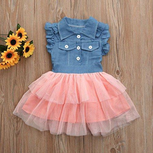 Chic Vestido de fiesta niña â ¤ï¸ Amlaiworld Vestido de princesa de verano  de 7f08b578d37