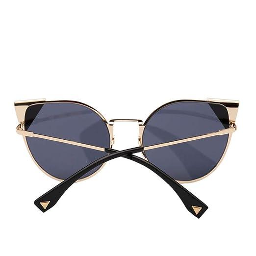 Yangjing-hl Gafas de Sol de Ojo de Gato Tendencia Gafas de ...