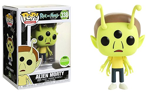 2018 Spring Convention Exclusive Animation #338 Rick and Morty Alien Morty Funko Pop