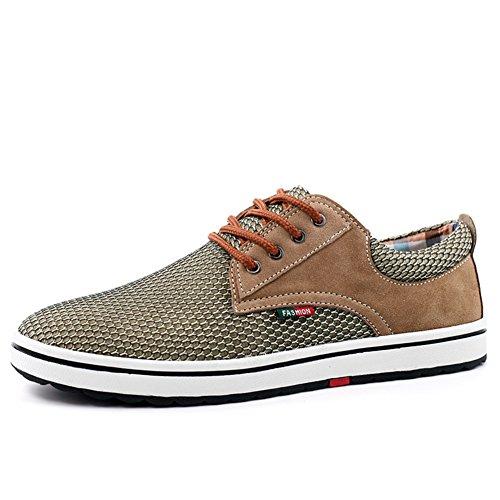 Bajos flujos en zapatos de verano/Air UK ocio zapatos/Zapatos de hombre cómodo y versátil D