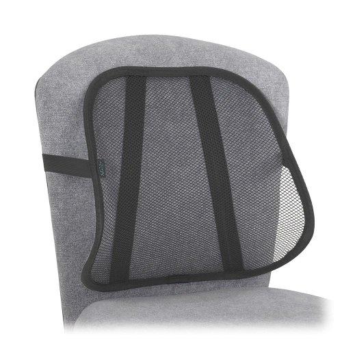 Safco 7153BL Mesh Backrest, 17-1/2w x 3-1/8d x 15h, Black Part No. -