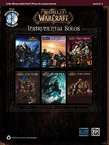 World of Warcraft Instrumental Solos for Strings: Cello, Book & CD (Pop Instrumental Solo (Music Solo Instrument)