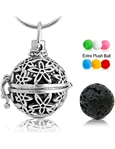 Lava Stone Aromatherapy Essential Oil Diffuser Necklace...