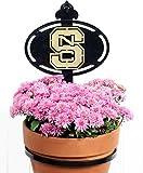 Henson Metal Works North Carolina State University Collegiate Logo Wall Mounted Flower Pot Holder