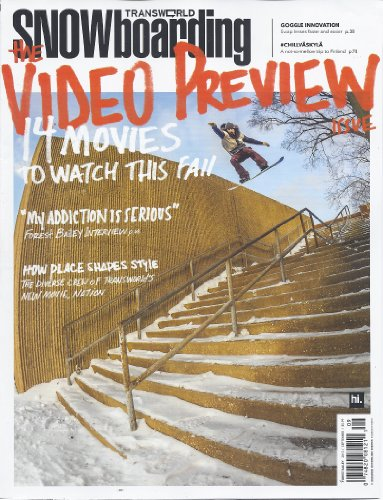 (Transworld Snowboarding (September 2013 (The Video Preview)