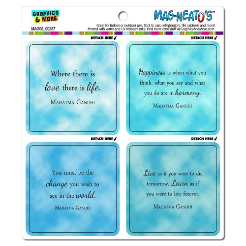 Graphics And More Gandhi Inspirational Quotes Mag Neato 39 S Import It All