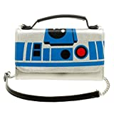 Official Star Wars R2-D2 Inside Out Cross Body Clutch Purse Evening Shoulder Bag