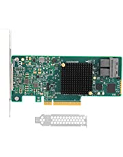 Richer-R RAID Contreller Card,RAID Controller SAS 9311-8i 12G SAS3008 12Gb SFF8643 with PCI-Express 3.0 Interface for Windows Vista / 2008 / Server 2003 / for Linux