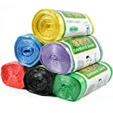 6 Colors Thickening High Quality Points Off Colorized Garbage Bag.