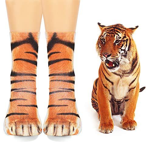 VAMEI 4 Pares de Calcetines de algodón con Estampado Animal en 3D para Hombres, Mujeres, niños, Adultos Unisex: Talla única: Amazon.es: Productos para ...