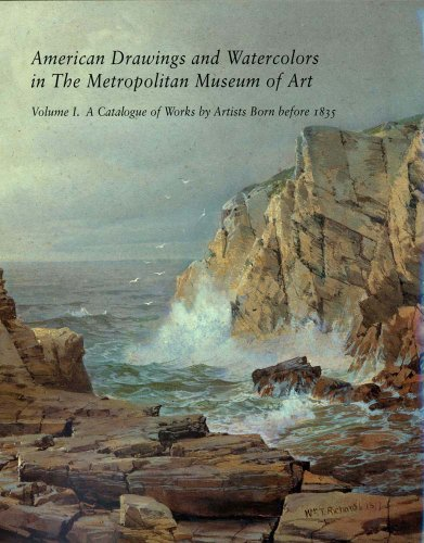 Book cover from American Drawings and Watercolors in the Metropolitan Museum of Art: A Catalogue of Works by Artists Born Before 1835 by Kevin J. Avery