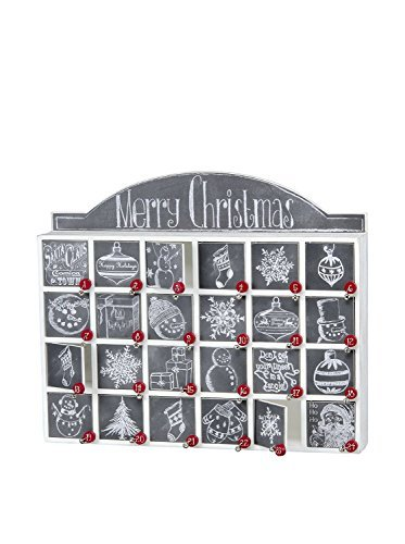 Primitives by Kathy 23700 Christmas Chalk Art Wood Countdown Box by Primitives by Kathy (Image #6)