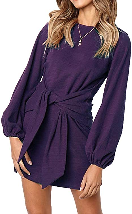 Womens Lace Up Tie Front Long Sleeve Lounge Suit Set New Grey Long Sleeve