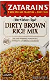 Zatarain's Dirty Brown Rice Mix, 7 oz (Case of 12)