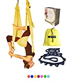 core 2 accesories - Wing Yoga Inversion Swing with Straps- Yellow