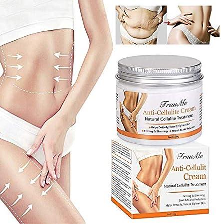 ❀Crema adelgazante: Reduce la celulitis en las caderas, muslos, glúteos y abdomen. Relajación profun