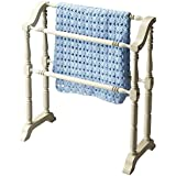 Butler Specialty Company 5020222 Lillian Cottage Blanket Rack, White