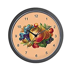 CafePress - FRUIT BUNCH-Wall Clock - Unique Decorative 10 Wall Clock