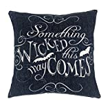 """Wicked Halloween Throw Pillow Case Cushion Cover Decorative Cotton Linen 18"""" x 18"""""""
