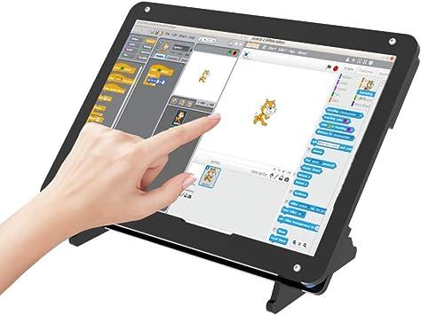 Monitor portátil con caja de acrílico Pantalla de 7 pulgadas: Amazon ...