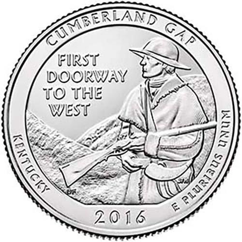 Cumberland Gap National Park NP Quarter Choice Uncirculated US Mint ()