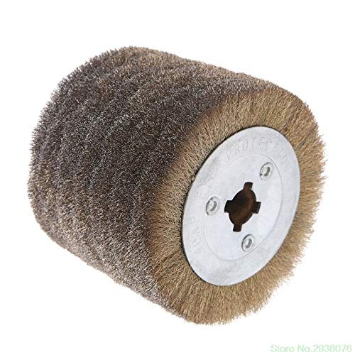 Maslin New Arrival Deburring Abrasive Stainless Steel Wire Round Brush Polishing Grind Buffer Wheel Drop Shipping Support - (Size: 0.3) by Maslin (Image #3)