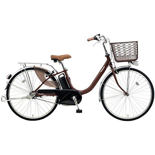 Panasonic(パナソニック) 2018年モデル ビビLU 26インチ BE-ELLU632 電動アシスト自転車 専用充電器付 B077V86FQPT:チョコブラウン