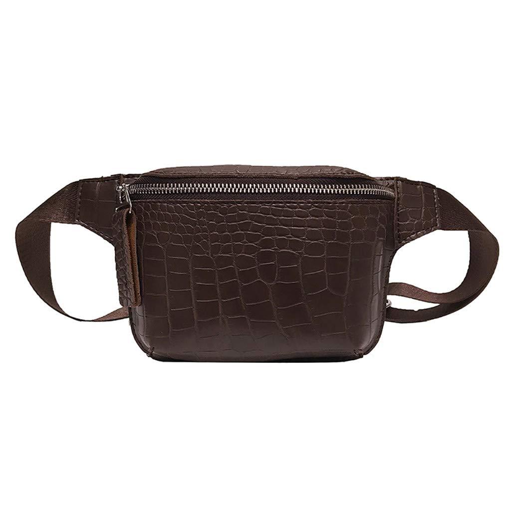 Women Simple Small Square Bag Versatile Shoulder Bag Messenger Bag Chest Bag