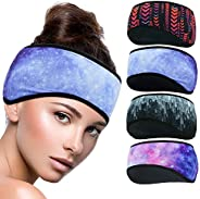 SYOURSELF Neck Warmer Gaiter Headband Ear Warmers Muffs Windproof Scarf Winter Face Cover Stretchy Ear Covers