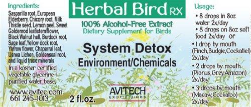 Avitech Herbal Bird Rx - System Detox (1 oz.)