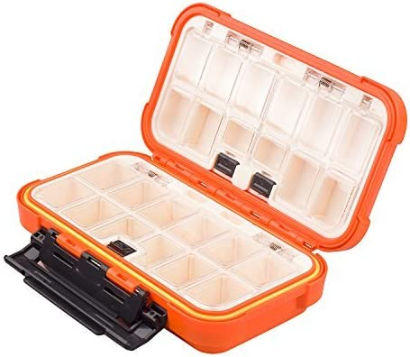 Details about  /5components Bait Box Large Capacity Lure Organizer Separated Outdoor Fishing